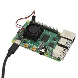 Type-C Raspberry Pi 4 Güç Anahtarlı Kablo - Thumbnail
