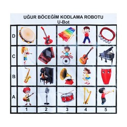 U-Bot - U-Bot Coding Robot Music Mat