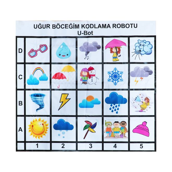 U-Bot Coding Robot Weather Mat