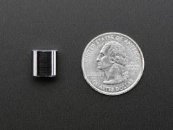 Ufak Metal Potansiyometre Başlığı - 10 mm Çap, 10 mm Uzunluk - Thumbnail