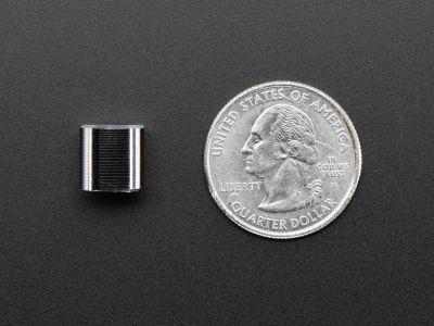Ufak Metal Potansiyometre Başlığı - 10 mm Çap, 10 mm Uzunluk
