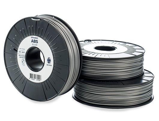 Ultimaker ABS - Gümüş