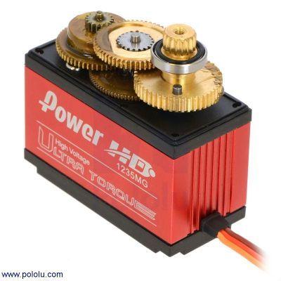 PowerHD Ultra Yüksek Güçlü Dijital Dev Servo Motor 1235-MG