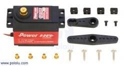 PowerHD Ultra Yüksek Güçlü Dijital Dev Servo Motor 1235-MG - Thumbnail