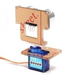 Ultrasonic Sensör Montaj Aparatı Tip A - Servo Uyumlu - Pan - Thumbnail