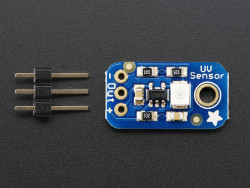 Adafruit - Ultraviolet (UV) Light Sensor Sensor - GUVA-S12SD