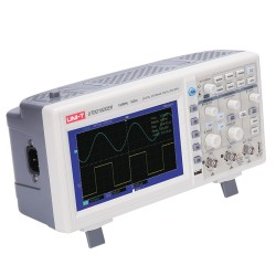 UNI-T UTD 2102CE Colored Screen Digital Oscilloscope with Memory , 100MHz - Thumbnail