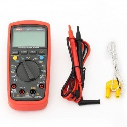 UNIT UT 139C AC/DC TrueRMS Digital Multimeter with Heat Prob - Thumbnail