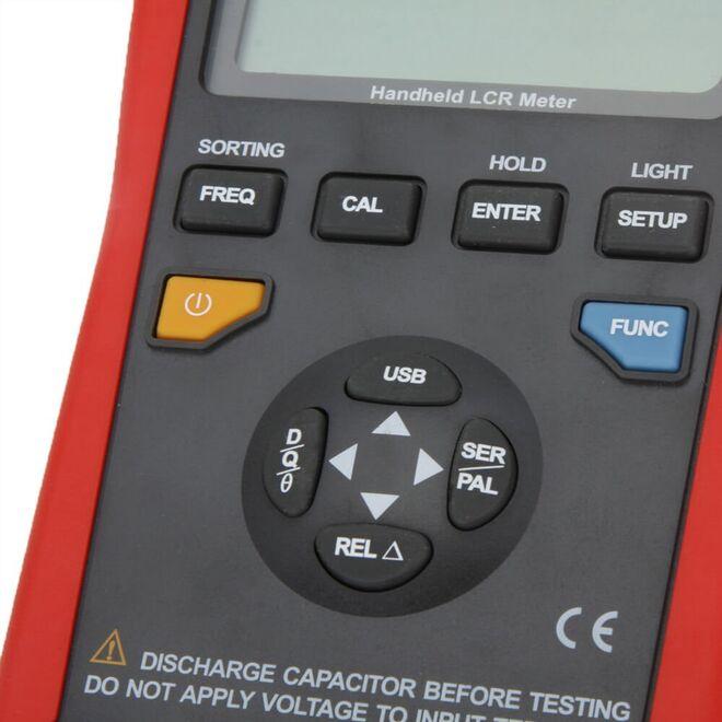 Unit UT 612 Handheld LCR Multimeter