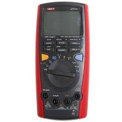 UNIT UT 71C Isı Problu AC/DC TrueRMS Dijital Multimetre