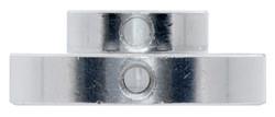 Universal Aluminum Mounting Hub for 8mm Shaft M3 Holes (2 Pack) - Thumbnail