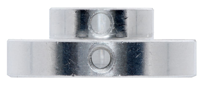 Universal Aluminum Mounting Hub for 8mm Shaft M3 Holes (2 Pack)