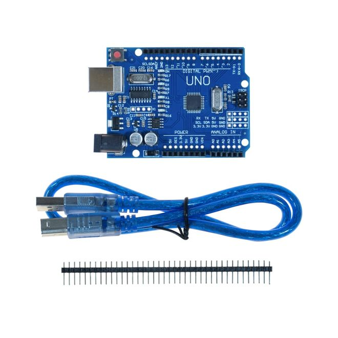 UNO R3 Clone For Arduino - With USB Cable - (USB Chip CH340)