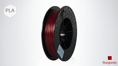 UP PLA 1.75 mm Burgundy Kırmızı Filament - 2x500 g