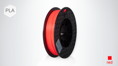 UP PLA 1.75mm Scarlet Orange Filament - 2x500gr