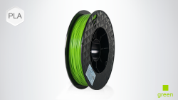 Up Mini - UP PLA 1.75 mm Yeşil Filament - 2x500 g