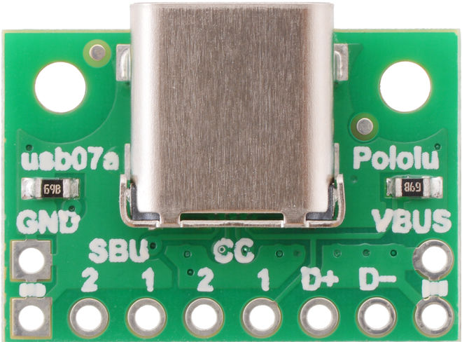 USB 2.0 Type-C - PCB Dönüştürücü