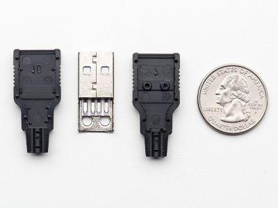 USB A Tipi Kılıflı Soket (Erkek)