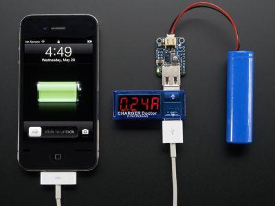 USB Akım ve Gerilim Göstergesi