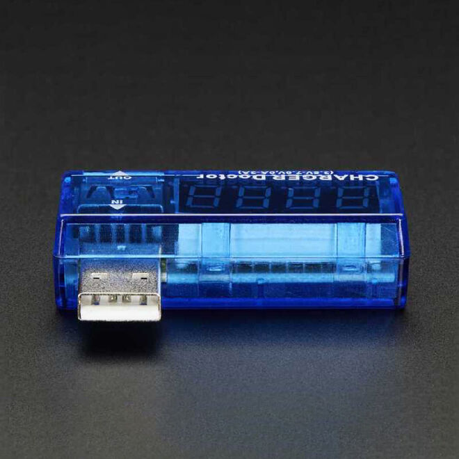 USB Current and Voltage Display