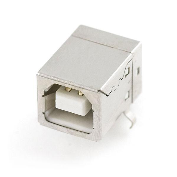 USB Dişi B Tip Konnektör (USB Female Type B Connector)