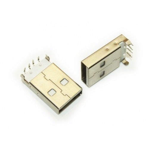 USB Erkek A Tip Konektör (USB Male Type A Connector)