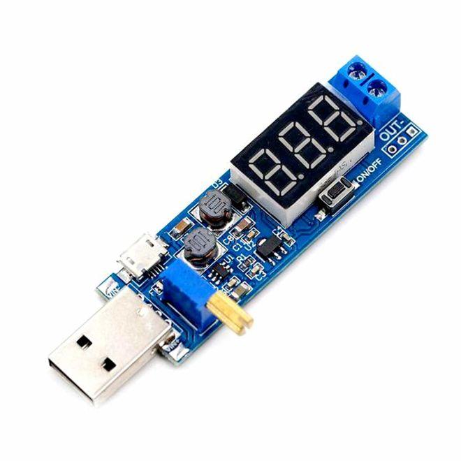 USB Güçlendirici Gerilim Regülatörü (5V to 3.3V-24V)