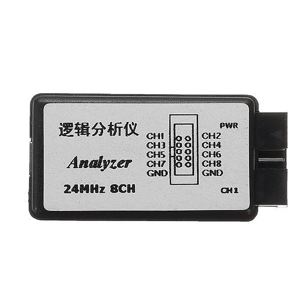USB Lojik Analizör - 24 MHz 8 Kanal