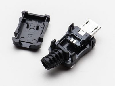 USB Micro-B Tipi Kılıflı Soket