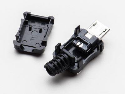 USB Micro-B Type Housing Socket