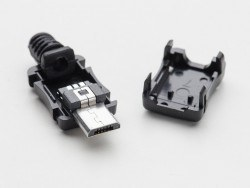 USB Micro-B Type Housing Socket - Thumbnail
