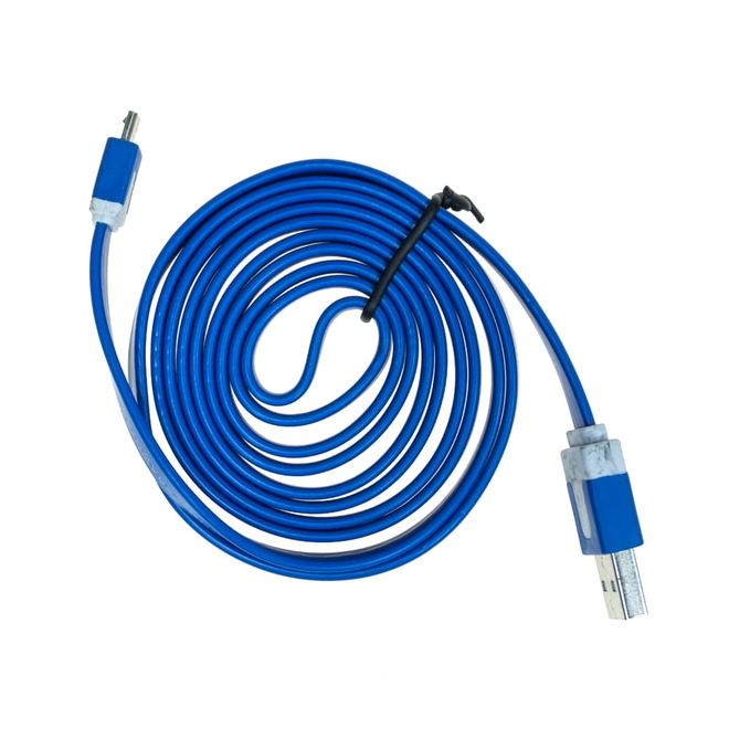 USB MİCRO KABLO 1,5 MT. - Mavi renk
