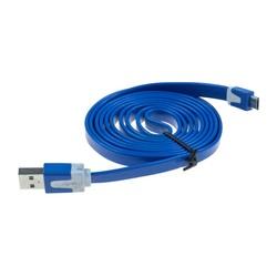USB MİCRO KABLO 1,5 MT. - Mavi renk - Thumbnail