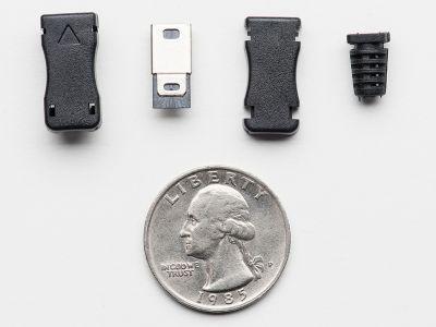 USB Mini-B Tipi Kılıflı Soket