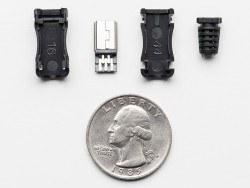 USB Mini-B Tipi Kılıflı Soket - Thumbnail