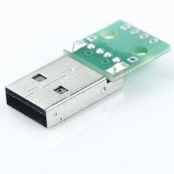 USB Type-A (Male) to DIP Converter - Thumbnail