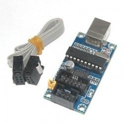 China - USBtinyISP AVR Programmer Board- Arduino Bootloader Programmer