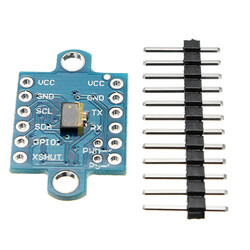 VL53L0X Lazer ToF Sensör Modül (I2C, PWM, Serial) - Thumbnail
