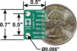 VL53l1X Time-of-Flight Distance Sensor - Thumbnail