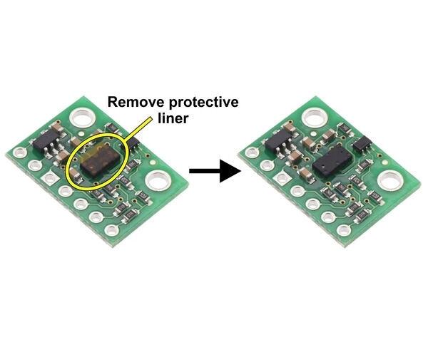 VL53L3CX Lazer ToF Sensör Modül (Max 500cm)