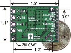 VNH5019 Motor Dirver Board - PL-1451 - Thumbnail