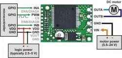 VNH5019 Motor Sürücü Kartı - PL-1451 - Thumbnail