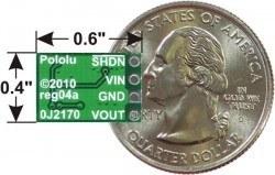 Voltaj Düşürücü Regülatör Kartı D24V3AHV - Thumbnail