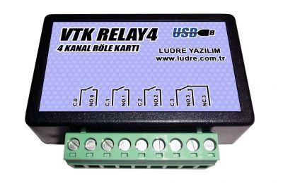 VTK RELAY4 LabVIEW Uyumlu 4 Kanal Yüksek Hızlı Röle Kartı