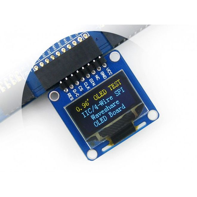 WaveShare 0.96 inch OLED Display- 128x64 (A)