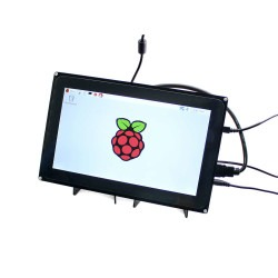 WaveShare - WaveShare 10.1'' HDMI Capacitive LCD Touch Display - 1024x600