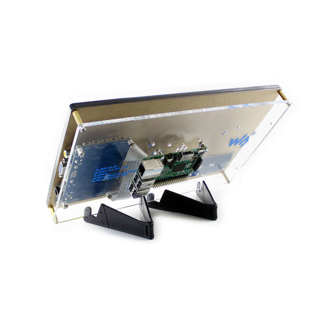 WaveShare 10.1'' HDMI Capacitive LCD Touch Display - 1024x600