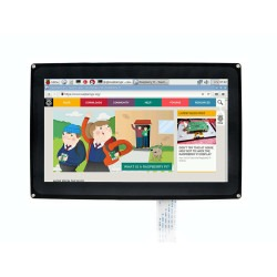 WaveShare 10.1'' HDMI Capacitive LCD Touch Display - 1024x600 - Thumbnail