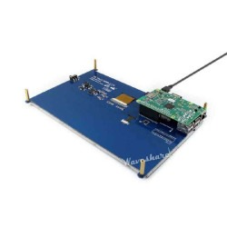 WaveShare 10.1 inch HDMI Resistive Touch LCD - 1024x600 - Thumbnail
