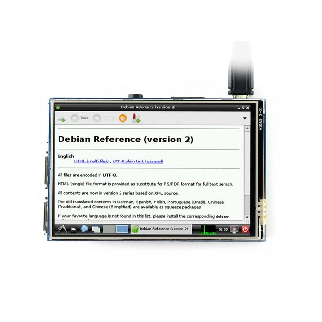 WaveShare 3.5 inch Resistive Touch LCD - 480x320 (B)